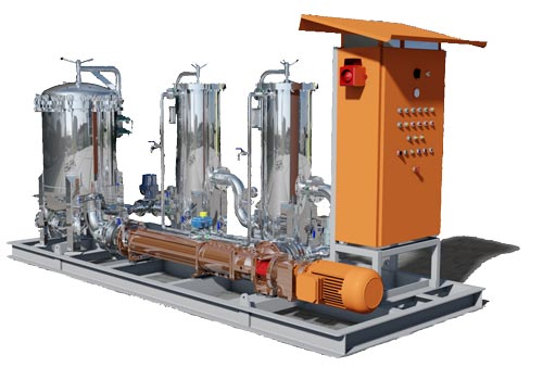 Ultraspin HD50-oily water separator