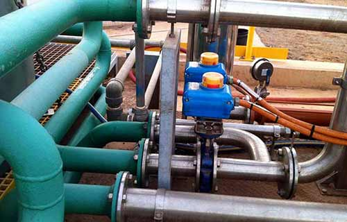 Recycle valve for improved water separation