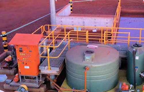 Oil Water Aeration