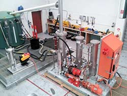 Ultraspin Oil Water testing facility