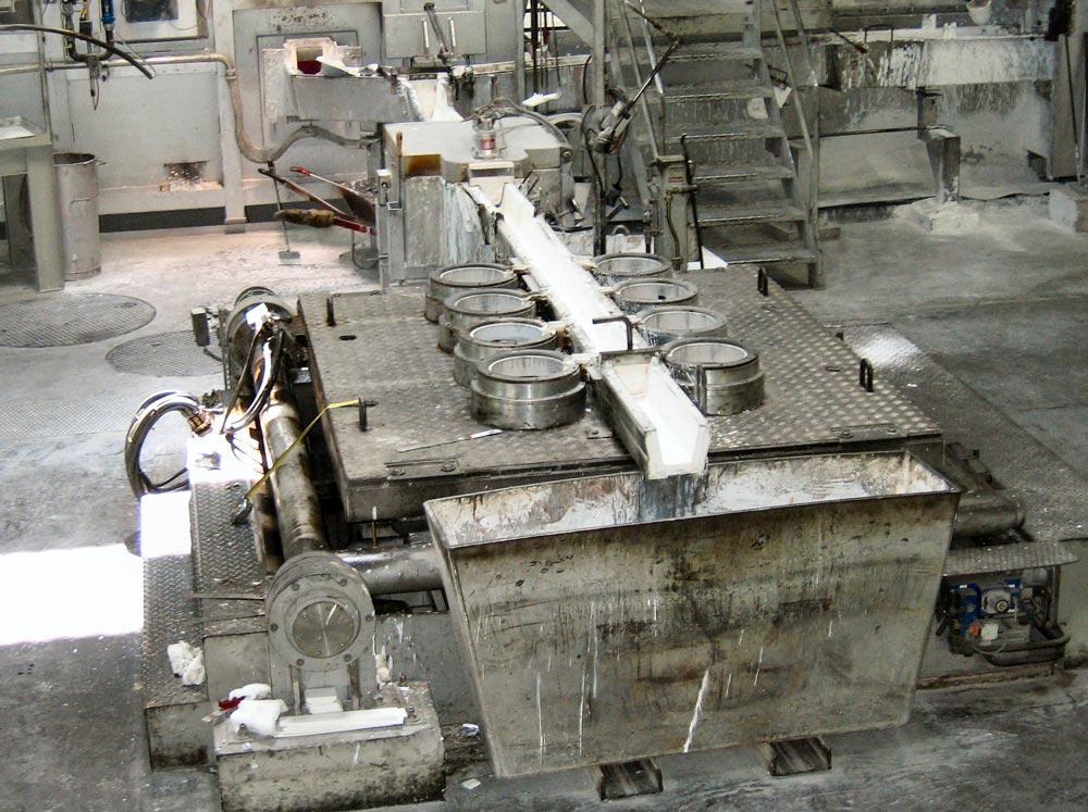 Aluminium billet process using Ultraspin wastewater treatment