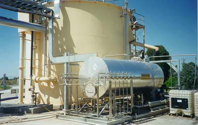 Kraft cheese factory Ultraspin fat separator system