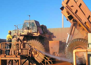 Mining Truck Wash Water