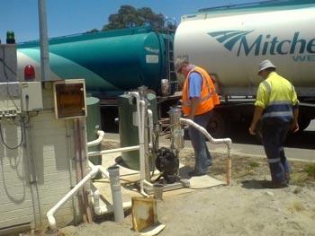 Ultraspin separators at transport depot