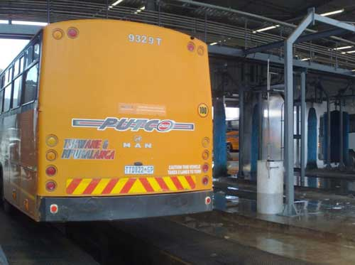 Ultraspin oily water treatment for the transport sector