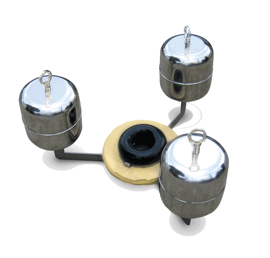 Ultraspin oily water skimmers