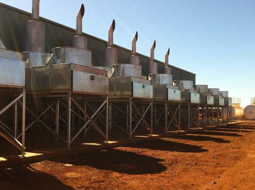 Ultraspin systems for mine site power generation